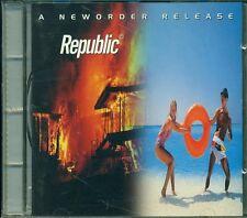 New Order - Republic (Joy Division) Cd Ottimo