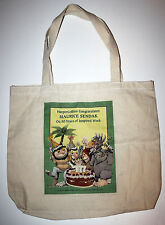MAURICE SENDAK Where the Wild Things Are Promo BOOK TOTE Carry BAG New HTF RARE!