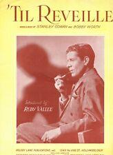 Sheet Music & Lyrics - 'Til Reveille - Rudy Vallee