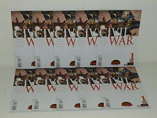 CIVIL WAR #1 - 10 Copies - SECRET WARS - CAPTAIN AMERICA Iron Man - MARVEL