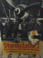 STURMSTAFFEL 1 REICH DEFENCE 1943/1944 THE WAR DIARY-BY E.MOMBEEK-CLASSIC PUBLIS
