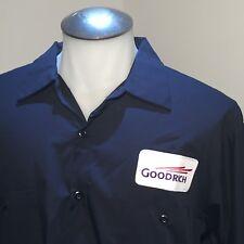 Goodrich Tire Work Mechanic Mens Long Sleeve Shirt XL Racing