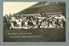 Palacios TEXAS RP 1913 BUCKEYE ASSOCIATION Picnic OHIO DAY nr Port Lavaca