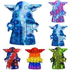 Baby Yoda Bubble Push Pop Fidget Sensory Spielzeug Autismus ADHS Stressabbau Toy