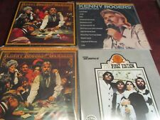 KENNY ROGERS HITS & GAMBLER MFSL Japan 1/2 SPEED MASTERED MINT VINYL LPS + 1STED