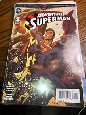 The Adventures of Superman number 1 -5 the new 52 by DC's launch in 2013