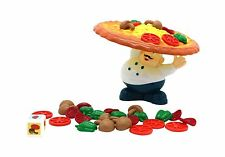Little Treasures Incline Pizza Balancing Pile Up Game for Ages ... Free Shipping