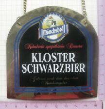 MÖNCHSHOF KLOSTER SCHWARZBIER ...................... ZHS / Zapfhahnschild (087)