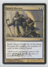 2012 Magic: The Gathering - Return to Ravnica #193 Search Warrant Magic Card 0c4