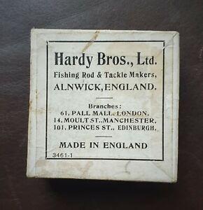 "Vintage ""Hardy Bros"" Alnwick, Printed Cardboard Box with 18 Flies  3461-1"
