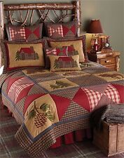 Park Designs Cabin Collection King Quilt Lodge Bedspread