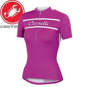Castelli Promessa Women's Cycling Jersey - Purple