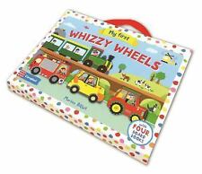 My First Whizzy Wheels : Four Vehicle-Shaped Board Books in a Carry Case: By ...