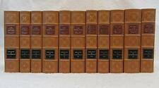 Will & Ariel Durant THE STORY OF CIVILIZATION 1992 Easton Press Leather 11 Vol's