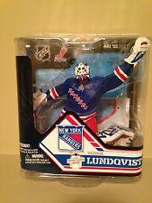 Mcfarlane nhl 32 Henrik Lundqvist NY Rangers CL #262/2000 figure.Mint Rare