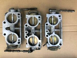 Set of 3 Nissan Skyline GTR R32 R33 R34 RB26 Throttle Bodies