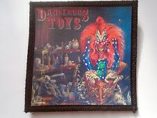 Dangerous Toys patch,heavy metal,iron maiden,wasp,glam metal,