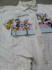 1990s vintage DISNEY STORE mickey mouse LARGE mens EMBROIDERED shirt