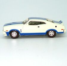 NEW 1978 Ford Falcon XC Cobra Hardtop 1:87 White / Blue Diecast Model Car Cooee