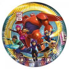 PIATTI CARTA BIG HERO 6 TRE CONFEZIONI Party Festa Compleanno Supereroe 85621