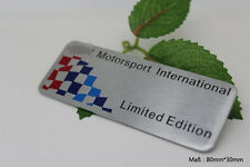 D101 Limited Edition Auto 3D Emblem  Emblem Badge Aufkleber Car Sticker for bmw