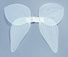 Womens Kids White Giant Fairy Angel Wings Tinkerbell Style Fancy Dress P147