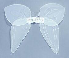 Womens Kids White Giant Fairy Angel Wings Tinkerbell Style Fancy Dress P147