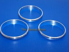 FOR VW GOLF 5 V MK5 JETTA A/C CHROME RINGS HEATER SURROUNDS FOR CLIMATE CONTROLS