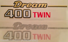 HONDA CB400 CB400T DREAM SIDE PANEL DECALS