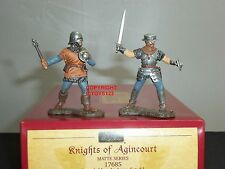 Britains 17685 francese Cavalieri di quelle di Agincourt Uomini in armi in metallo giocattolo soldato Set