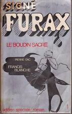 Francis BLANCHE & Pierre DAC - LE BOUDIN SACRE Signé !