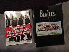 THE BEATLES ANTHOLOGY BOOK & ROLLING STONES MAGAZINE 100 GREATEST SONGS, BEATLES