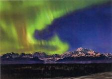 Denali and Aurora - 3D Lenticular Postcard Greeting Card