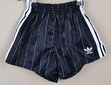 ADIDAS Glanz Nylon Shorts Vintage Short Sporthose Schwarz-Gr.M-4    (1019)