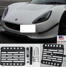 For 07-11 Lotus Exige S Relocate License Plate Mount Bracket Front Tow Hook