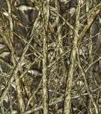 "CAMOUFLAGE 3M WRAP VINYL DECAL 48"" x 15"" BASS BOAT CAMO TREE FISH PRINT PICKUP."