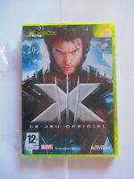 x men x-men le jeu officiel  xbox neuf sous blister
