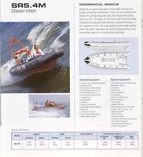 NEW ZODIAC AVON SR 5.4 m Searider Rib Inflatable Boat Commercial Military Work