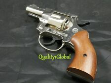 "ITALY REAL WOOD & METAL 2.5"" MOVIE PROP Pistol Replica  Gun Training AID.38 S&W"