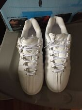K Swiss Classic VN 01474147 Leather White Casual Mens Fashion Shoes Sizes 7.5