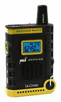810-805 La Crosse Handheld AM/FM/Weather Band NOAA Weather Radio - Refurbished