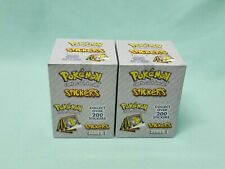 Pokemon ArtBox Sticker Serie 2 x Display / 60 Tüten / 600 Sticker