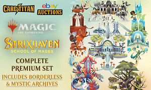 Magic MTG - STRIXHAVEN - Premium Complete Set + Mystical Archives - CARDTITAN