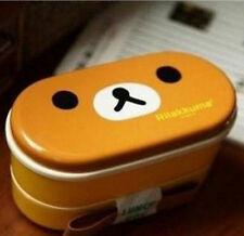 Rilakkuma Relax Bear Lunch Box Bento with Chopsticks Heat Resistance