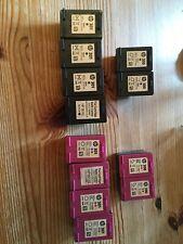 HP 300 & 301 Cartuchos De Impresora de tinta usados