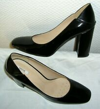 NEU = GEOX Respira = PUMPS Schuhe LACKLEDER High Heels 40 schwarz Party Business