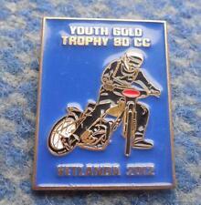 YOUTH GOLD TROPHY SPEEDWAY 80 CC SWEDEN VETLANDA 2012 PIN BADGE