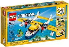 LEGO CREATOR 31064 - SEAPLANE ADVENTURE - BNISB - MELB SELLER - READY TO POST