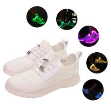 Optics LED Shoes Light Up Shoes Men with USB Charging Flashing Luminous Trainer
