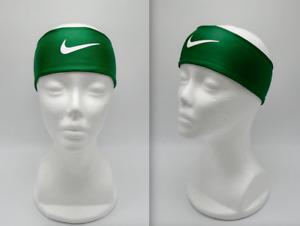 Nike Fury Headband Adult Unisex Gorge Green/White
